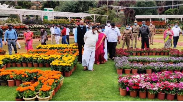 the-famous-ooty-flower-show-started-online-by-corona