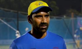 till-day-don-t-know-how-we-contracted-covid-19-says-csk-bowling-coach-balaji