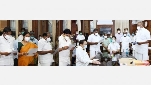 nine-incumbents-including-two-ministers-were-sworn-in-as-mlas-today