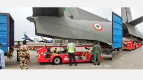 life-guard-medicines-ki-s-ventilator-from-delhi-arrived-in-chennai-on-2-air-force-planes