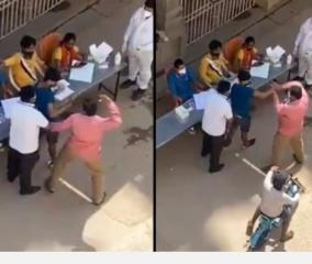 youngster-thrashed-as-he-backs-off-from-covid-test-at-bbmp