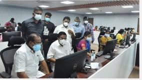 ministers-talking-to-residents-of-isolated-houses-in-coimbatore-over-the-phone