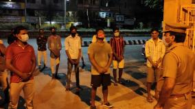 corona-prevention-volunteer-job-for-youths-who-played-cricket-in-violation-of-curfew-puducherry-police