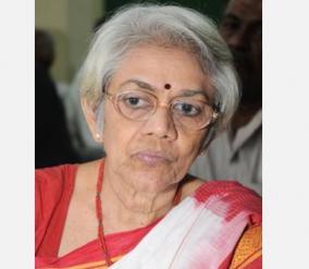 maithili-sivaraman-a-veteran-leader-of-aidwa-has-passed-away-due-to-corona-infection