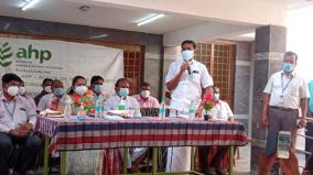 corona-special-treatment-center-with-50-beds-for-hill-villages-opening-at-tirupathur