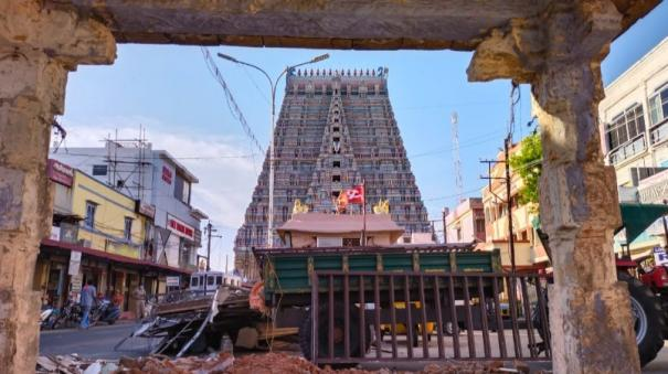removal-of-temple-hall-occupation-in-srirangam-after-40-years-devotees-happy