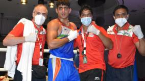 asian-boxing-c-ship-sanjeet-wins-gold-defeats-rio-olympic-silver-medalist-in-final