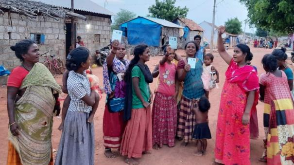 50-narikurava-families-in-karaikudi-do-not-have-ration-card-suffering-from-not-being-able-to-get-even-rs-2-thousand-announced-by-the-government