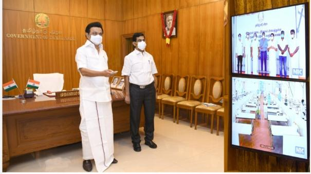 corona-treatment-center-in-theni-and-virudhunagar-districts-chief-minister-inaugurated
