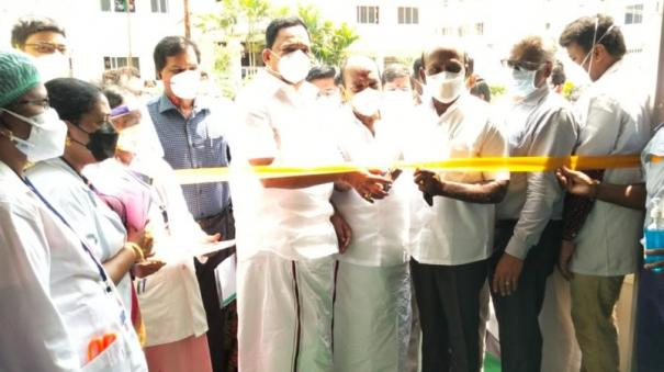 minister-ma-subramanian-on-hospital-beds