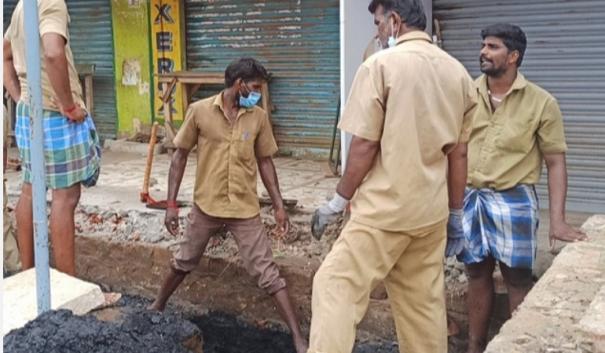 sivagangai-municipal-workers