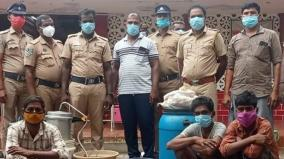 ramnad-4-arrested-for-making-illicit-liqour