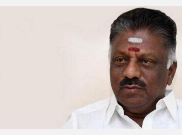 o-panneerselvam-on-entrance-exam-for-11th-standard