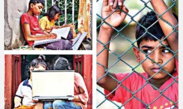 children-in-lockdown