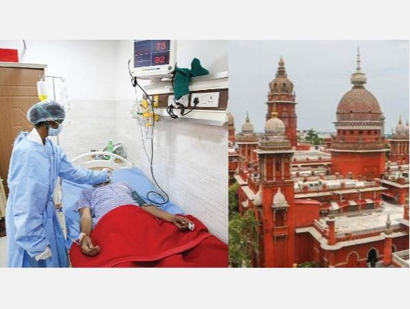 private-hospital-corona-treatment-and-diet-fees-due-high-court-order-to-the-govt-of-pondicherry
