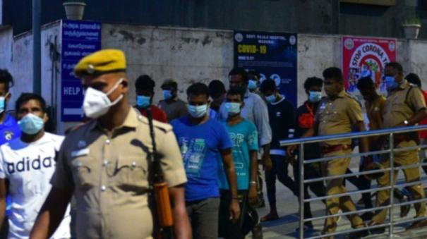 23-arrested-in-madurai-airport