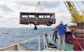 old-buses-drowned-in-srilanka-sea