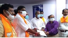 first-bjp-mla-to-become-speaker-without-contest-chief-minister-of-pondicherry-filed-a-petition-with-the-party