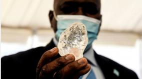a-diamond-believed-to-be-the-third-largest-ever-found-has-been-put-on-display-in-botswana