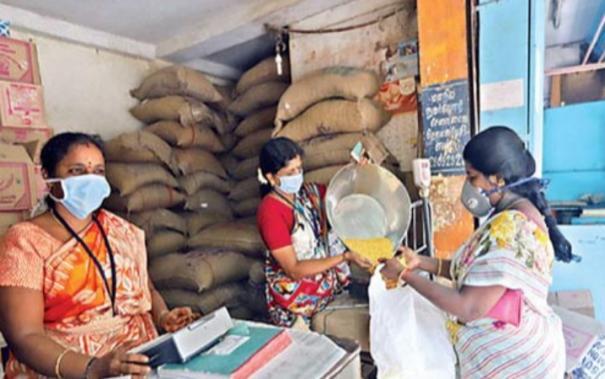 corona-relief-goods-shortage-in-madurai-ration-shops