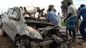 father-daughter-killed-in-ariyalur-car-accident-6-injured-including-children
