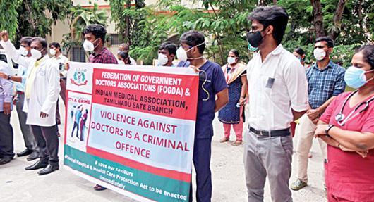 doctors-protest