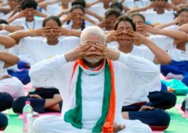 pm-to-address-7th-international-yoga-day-programme-tomorrow