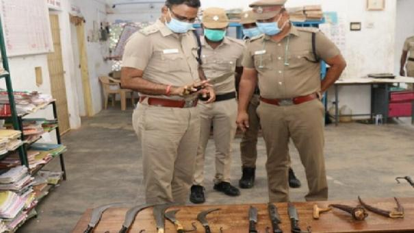 tutucorin-youth-held-for-having-weapons