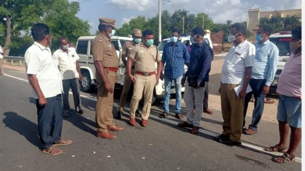bike-collides-with-container-lorry-near-vellore-4-members-of-the-same-family-killed