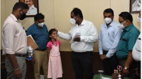 what-will-the-collector-s-seat-look-like-the-madurai-collector-who-fulfilled-the-wish-of-the-girl-who-lost-her-father-by-corona