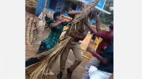 youths-attack-police-at-checkpoint-near-wattalakundu-video-goes-viral