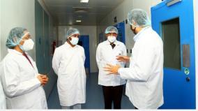 mansukh-mandaviya-and-g-kishan-reddy-review-the-production-of-vaccines