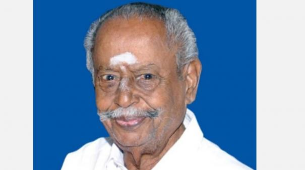 former-minister-tanjavore-ayyaru-vandayar-has-passed-away