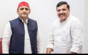 up-new-alliance-in-elections-aam-aadmi-party-mp-with-samajwadi-party-leader-akhilesh-meeting