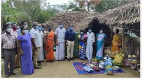 government-doctor-builds-house-for-fire-victim-villagers-praise