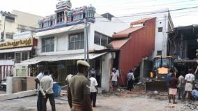 demolition-of-a-restaurant-worth-rs-2-crore-in-coimbatore