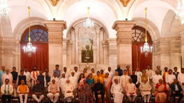 43-ministers-take-oath-in-pm-s-mega-overhaul-7-cabinet-ministers-sacked