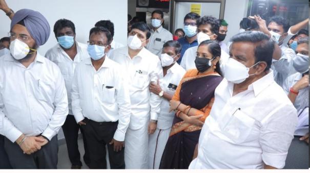 kn-nehru-inspection-in-chennai