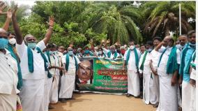 rs-48-crore-loan-in-the-name-of-farmers-farmers-protest-demanding-action-against-thirumandangudi-sugar-mill-management