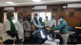 hold-a-meeting-of-farmers-grievances-request-of-the-representatives-of-the-farmers-association-to-the-collector-of-tirupati