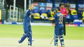 skipper-dhawan-debutant-kishan-shine-in-india-s-seven-wicket-victory-over-sri-lanka