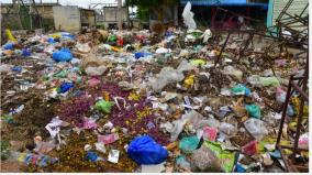 5-tons-of-garbage-not-kept-in-madurai-flower-market-for-20-days-farmers-traders-general-public-at-risk-of-disease