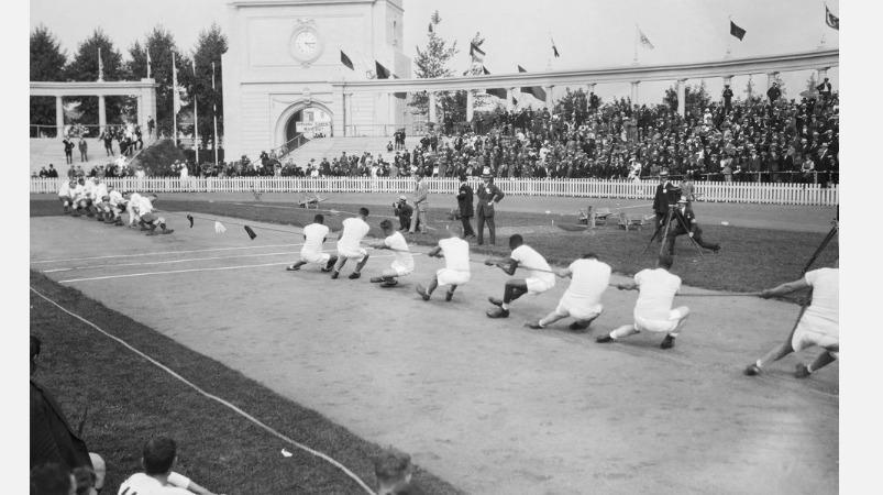 ஒலிம்பிக் நினைவலைகள் 2: ஒலிம்பிக்கில் கயிறு இழுக்கும் போட்டி!   olympic