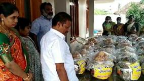 1000-kg-of-vegetables-fish-sweets-father-in-law-sent-from-andhra-pradesh-to-his-son-in-law