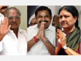 sasikala-who-came-to-inquire-about-madhusudhanan-s-physical-condition-edappadi-palanisamy-left-in-a-hurry