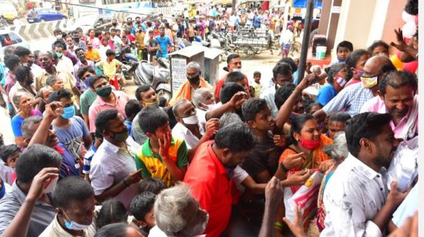 biryani-for-sale-for-5-paisa-in-madurai-people-gathered-early-in-the-morning-sold-out-in-10-minutes