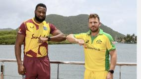 west-indies-australia-odi-suspended-after-positive-covid-test-emerges-moments-before-play