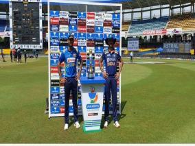 sl-vs-ind-3rd-odi-dhawan-wins-toss-elects-to-bat-samson-and-sakariya-make-debut