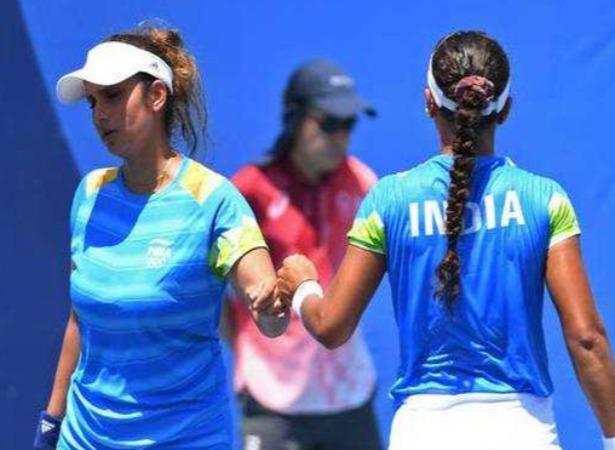 ஒலிம்பிக்: முதல்சுற்றிலேயே சானியா-அங்கிதா ஜோடி வெளியேற்றம் | Sania-Ankita pair knocked out of Tokyo Games