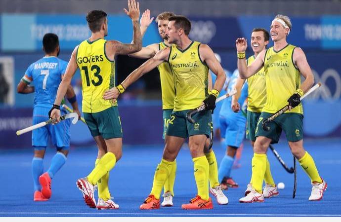 ஒலிம்பிக் ஹாக்கி: ஆஸ்திரேலிய அணி கோல் மழை; இந்தியாவுக்கு முதல் தோல்வி | Australia defeats India 7-1